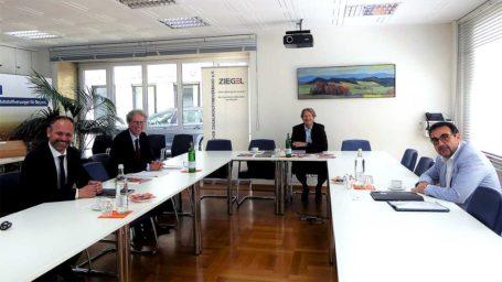 Besuch des neuen Baustaatssekretärs Klaus Holetschek, MdL, beim BZV