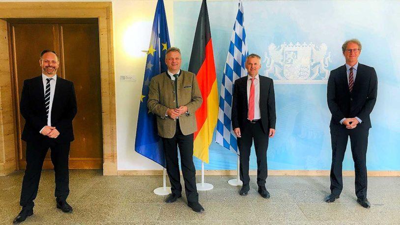 BZV im Gespräch mit Staatssekretär Roland Weigert, MdL (FW) im Bayerischen Wirtschaftsministerium