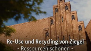Re-Use und Recycling von Ziegel