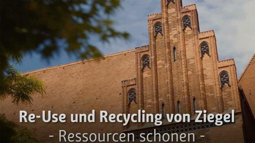 Re-Use und Recycling von Ziegel