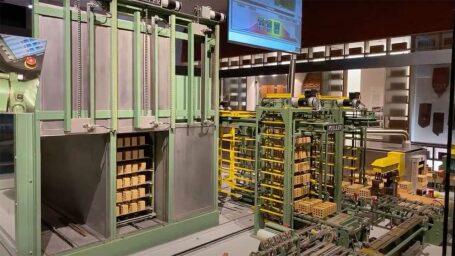 Videopräsentation der Miniziegel-Modellanlage im Deutschen Museum